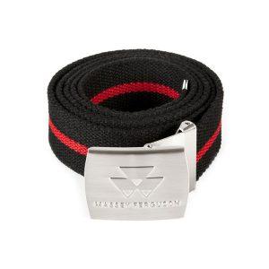 Arbeitsgürtel schwarz/rot