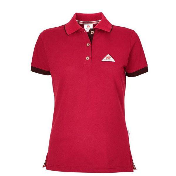 Poloshirt Damen rot von MF