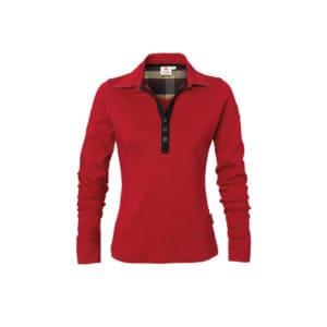 Langarm Rugby-Shirt für Damen