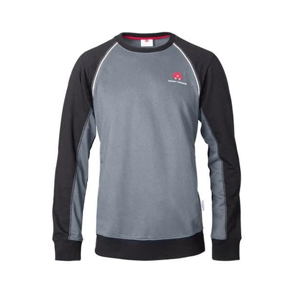 MF Sweatshirt grau schwarz