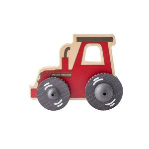 Wooden push-along Tractor