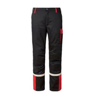 MF Arbeitshose schwarz-rot