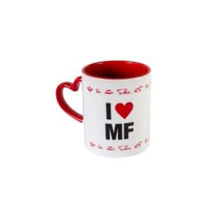 """Häferl """"I love MF"""""""
